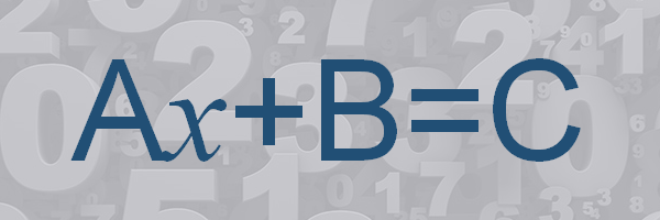 Create a Formula to Solve Equations in the Form of Ax+B=C